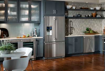 Custom high end cabinets kitchen cabinet suppliers bay for Kitchen cabinets 50 style