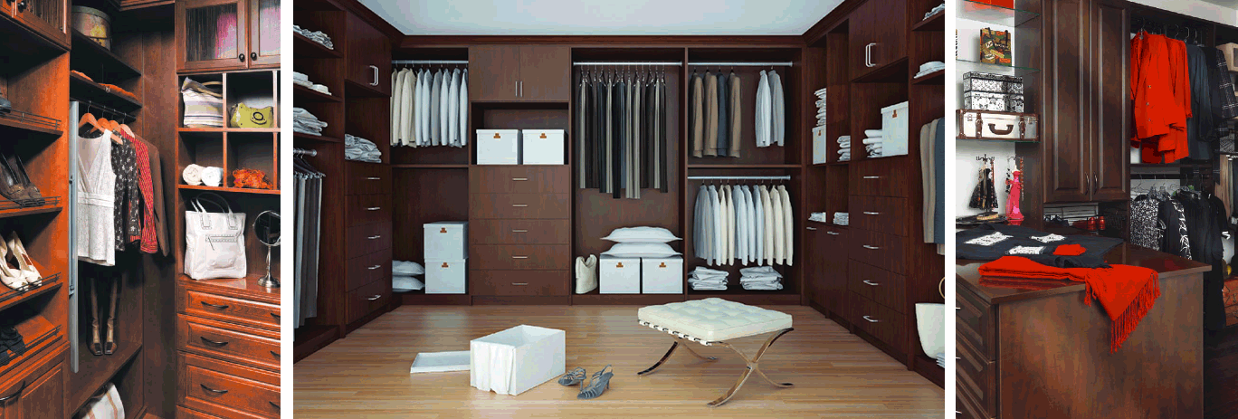 Custom Closet Systems Custom High End Cabinets Kitchen Cabinet - High end closet design