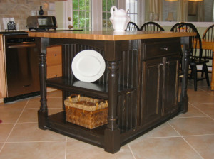Pre-Made Kitchen-Island