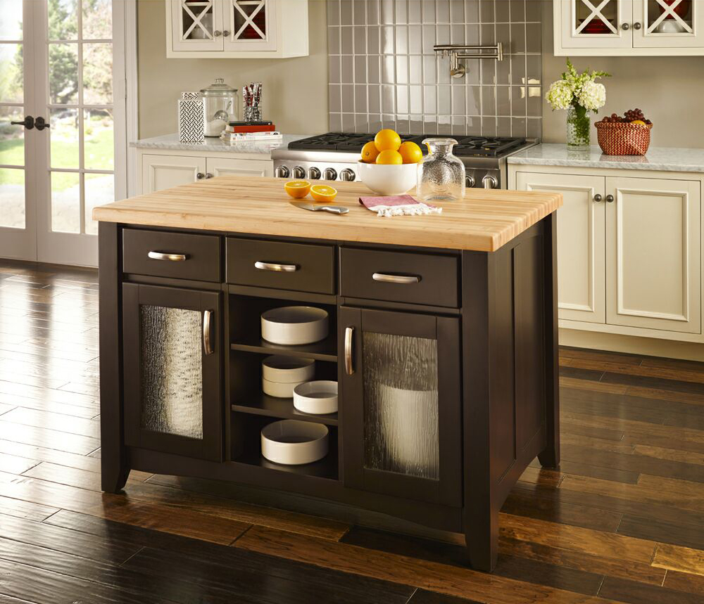 Islands For The Kitchen: Distinctive Cabinetry: How Kitchen Islands Increase