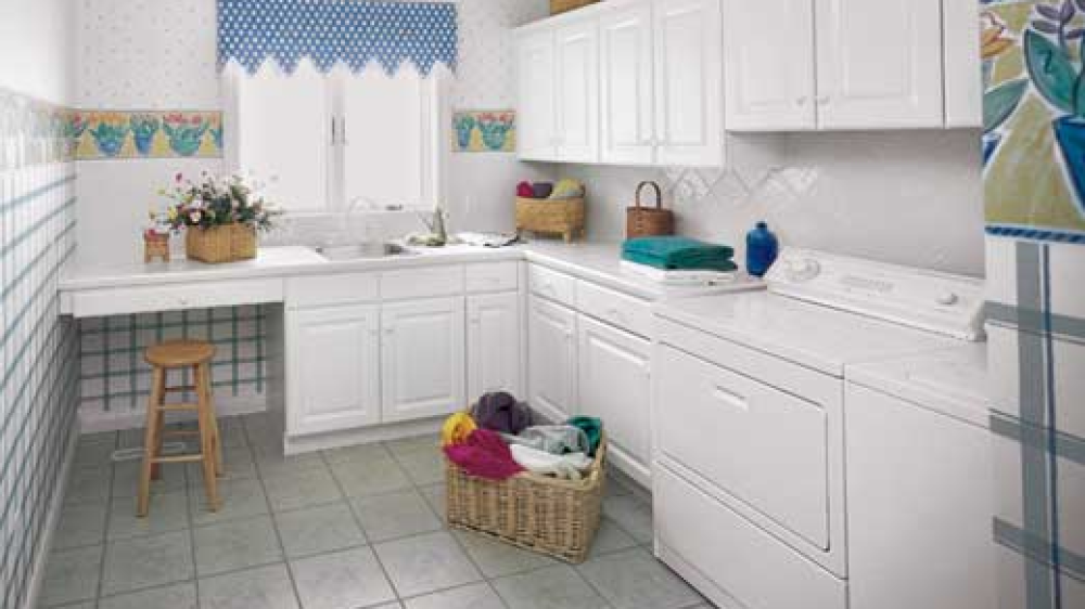 Newberry cabinets laundry room