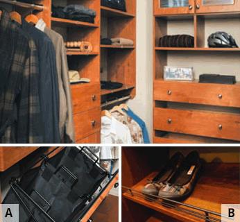 pull-out-hampers-slanted-shoe-shelf
