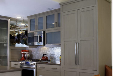 kitchen cabinets color olive green