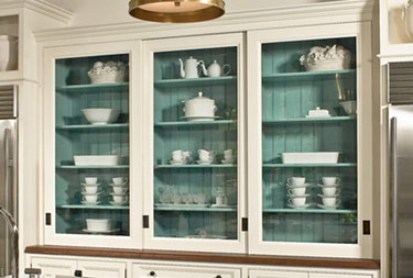 kitchen cabinets turquoise color