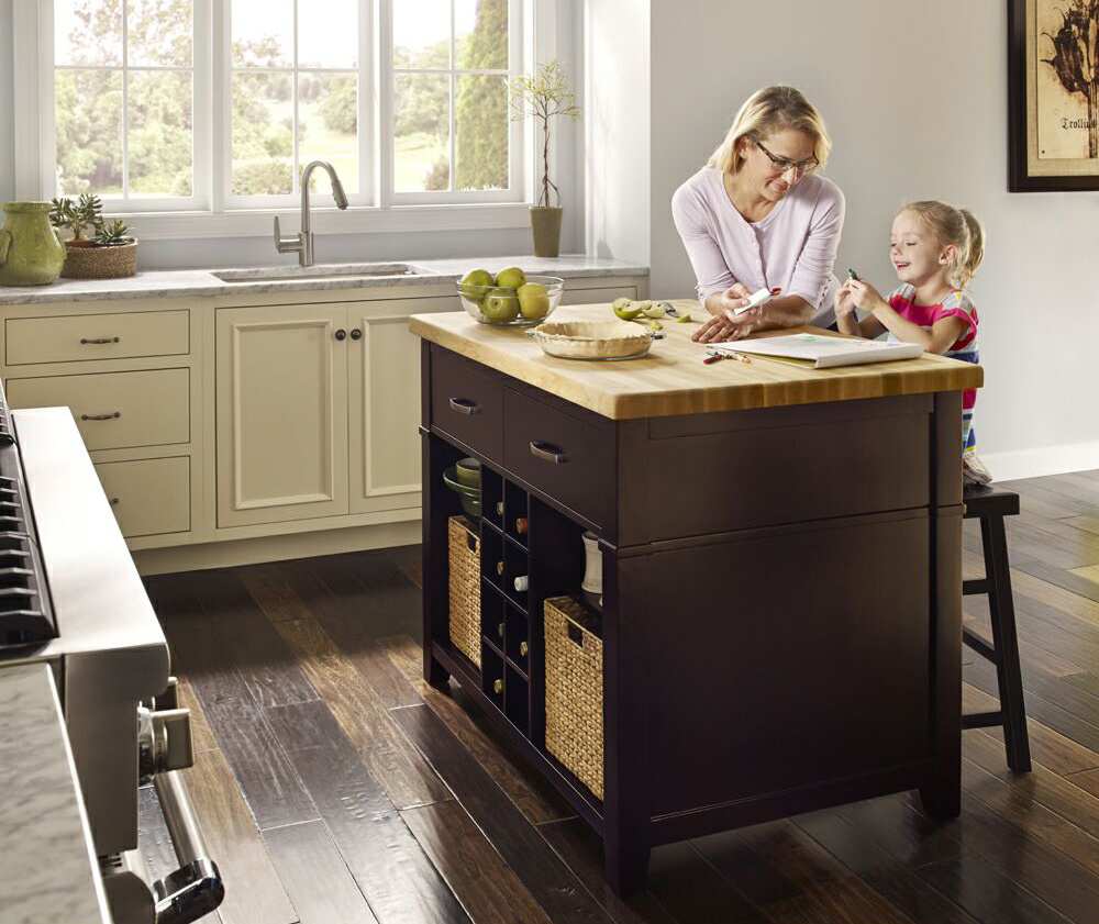 distinctive cabinetry how kitchen islands increase storage bay area