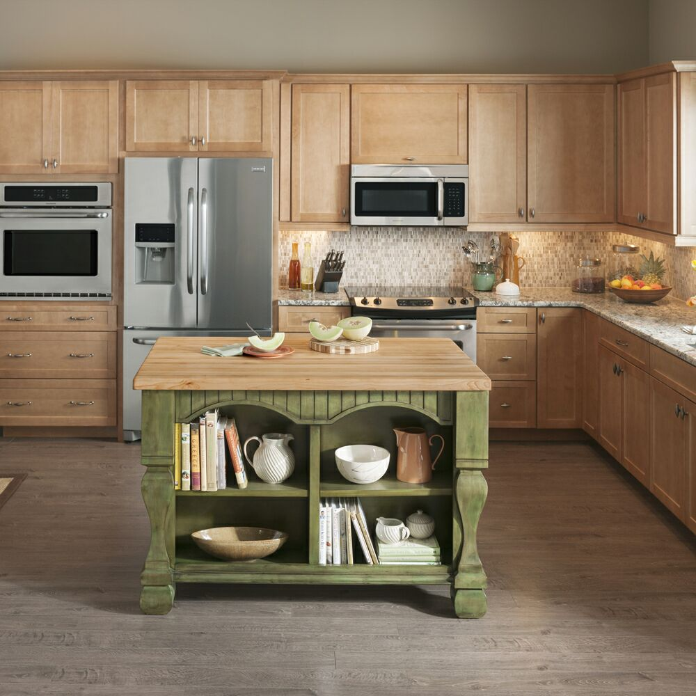 Distinctive Cabinetry: How Kitchen Islands Increase Storage ...