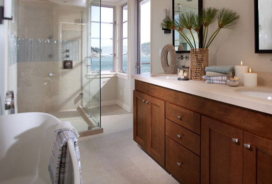 Bathroomremodeleastbaydesigner Custom High End Cabinets Classy Bathroom Remodeling Bay Area