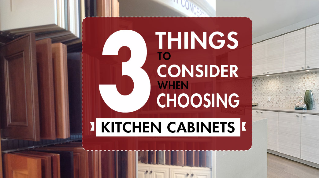 Consider 3 Things When Choosing Kitchen Cabinets   East Bay ...